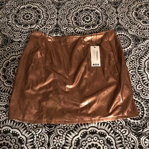 NWT Boohoo Night skirt size 10
